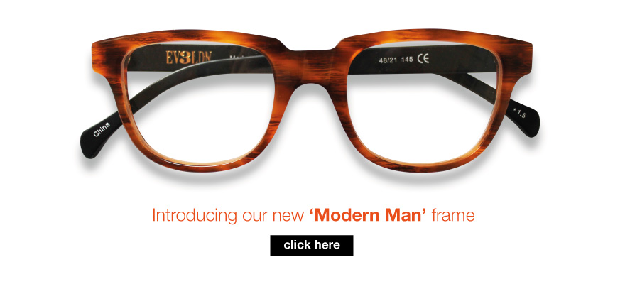 Intoducing our new 'Modern Man' frame